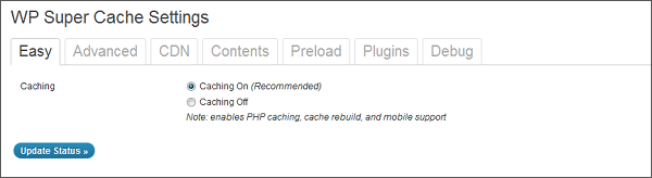 WP Super Cache Settings Easy - How To Install and Setup WP Super Cache WordPress Plugin