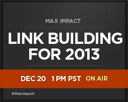 Link Building for 2013 and Beyond